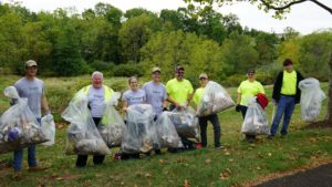 Penn E&R Participates in Perkiomen Watershed Conservancy's 2016 Fall Stream Cleanup Event