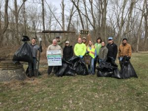 Penn E&R Participates in Growing Perkiomen Watershed Conservancy Stream Cleanup