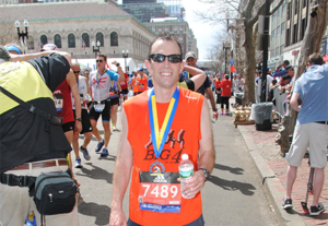 Penn E&R's Dave Weaver Competes In 2017 Boston Marathon