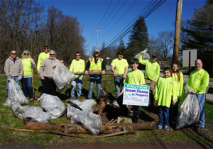 Penn E&R Participates in Perkiomen Watershed Conservancy's Largest Ever Spring Stream Cleanup