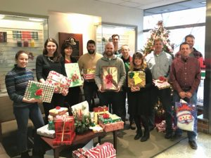Penn E&R Spreads Holiday Cheer, Participates in Giving Tree Program